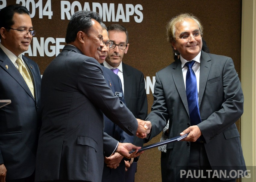 MAI signs MoU to develop and build local E-Bus Image #227007