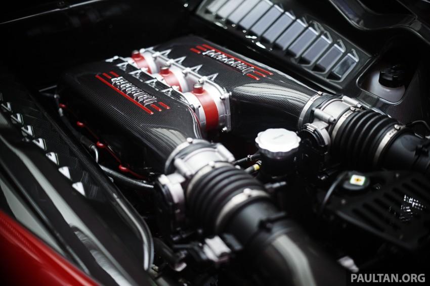 Ferrari 458 Speciale makes local debut at Sepang Image #230036