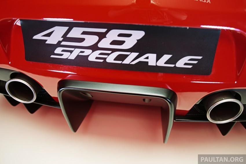 Ferrari 458 Speciale makes local debut at Sepang Image #230037