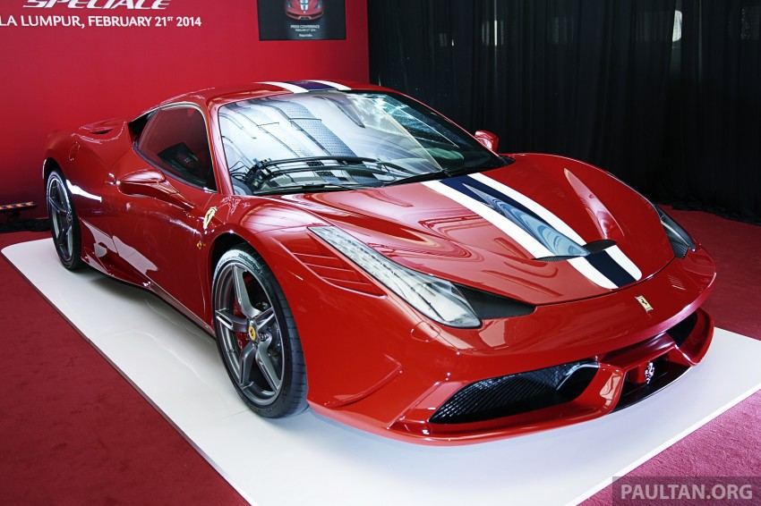 Ferrari 458 Speciale makes local debut at Sepang Image #230043