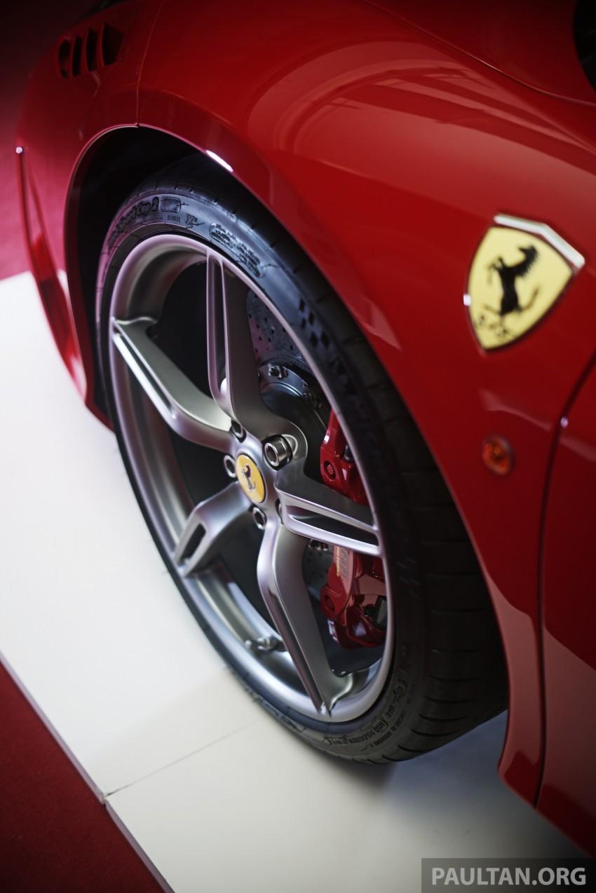 Ferrari 458 Speciale makes local debut at Sepang Image #230041