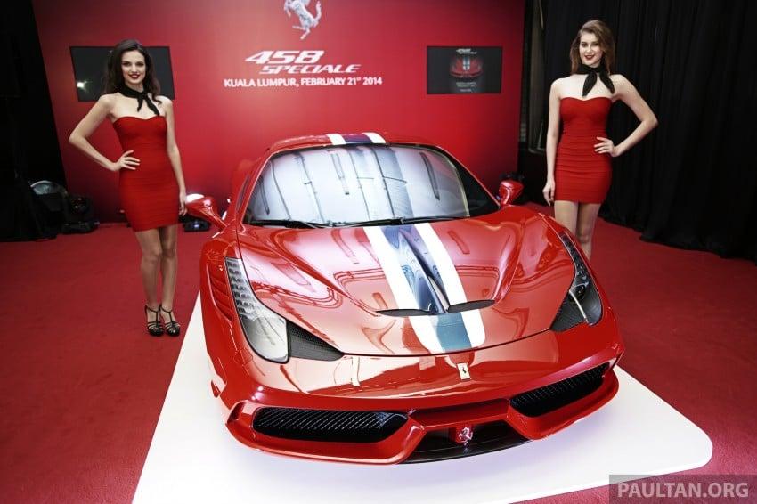 Ferrari 458 Speciale makes local debut at Sepang Image #230042