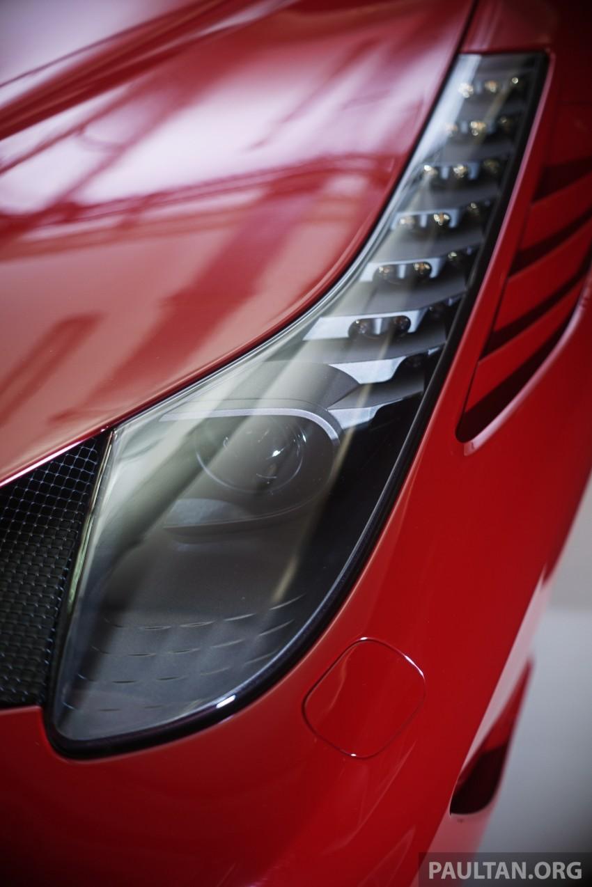 Ferrari 458 Speciale makes local debut at Sepang Image #230045