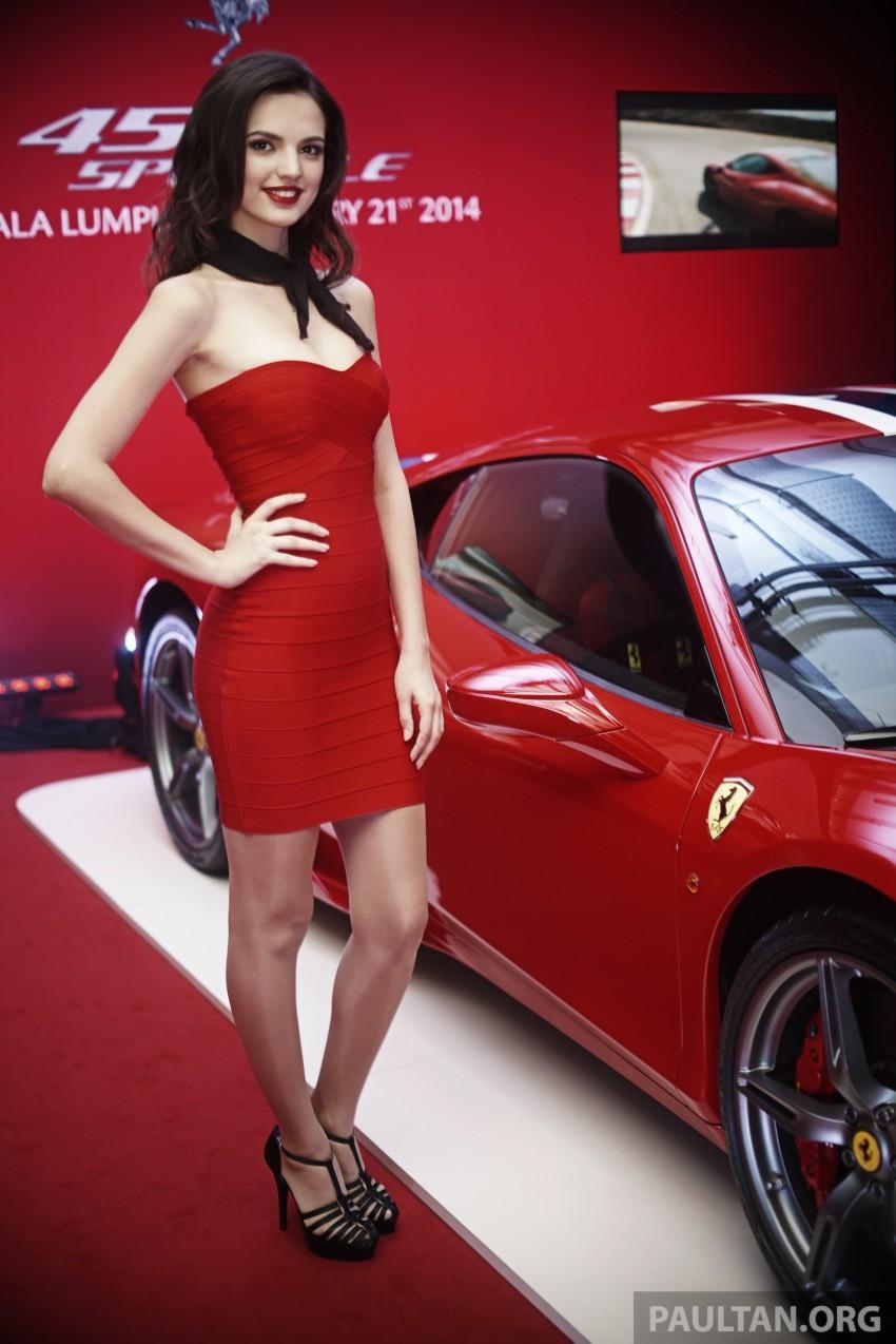 Ferrari 458 Speciale makes local debut at Sepang Image #230052