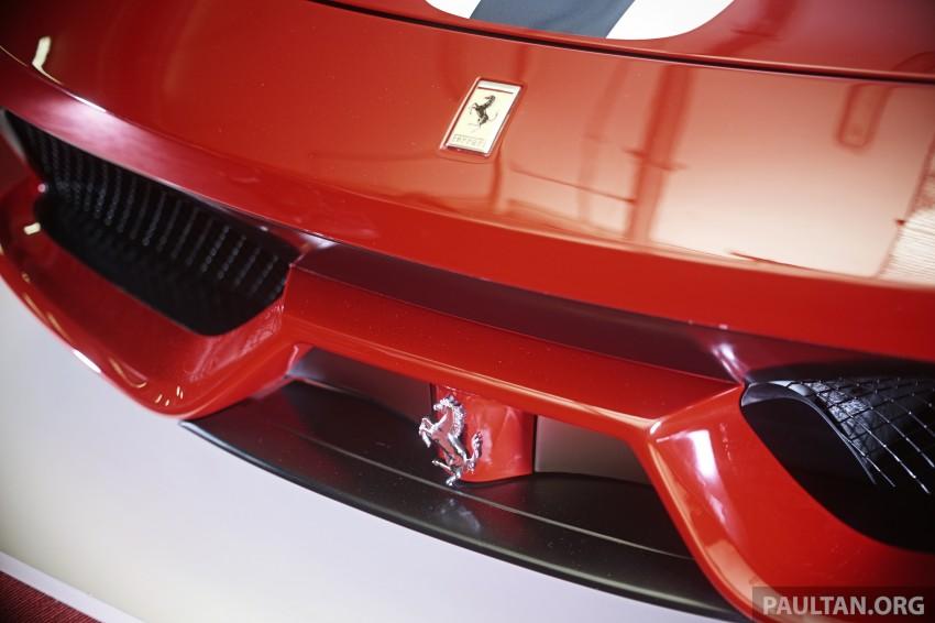 Ferrari 458 Speciale makes local debut at Sepang Image #230061
