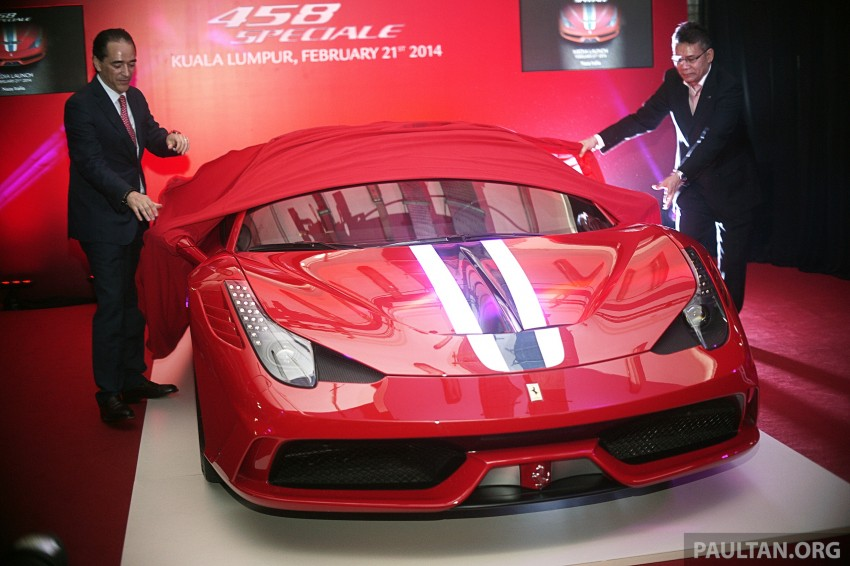 Ferrari 458 Speciale makes local debut at Sepang Image #230062