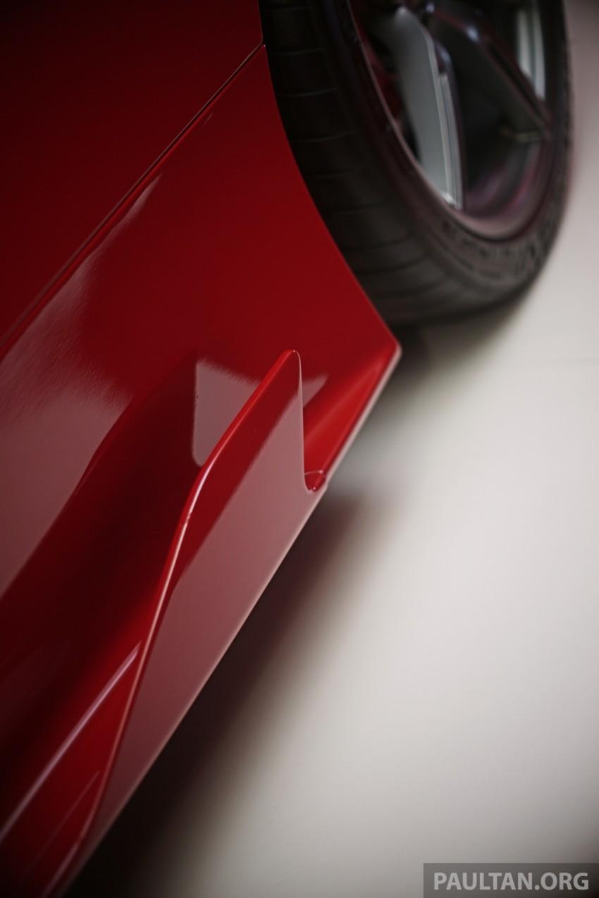 Ferrari 458 Speciale makes local debut at Sepang Image #230063