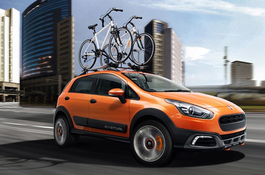 Fiat Punto Avventura – offering a new rugged point Image #226893