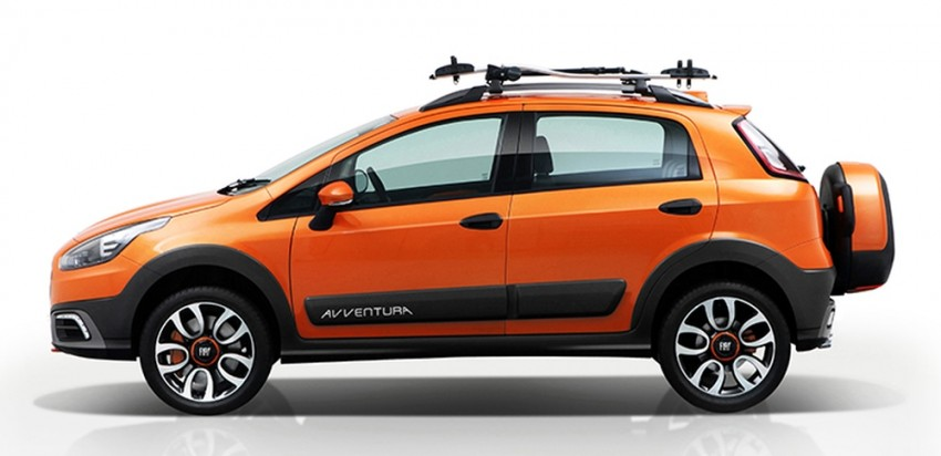Fiat Punto Avventura – offering a new rugged point Image #226892