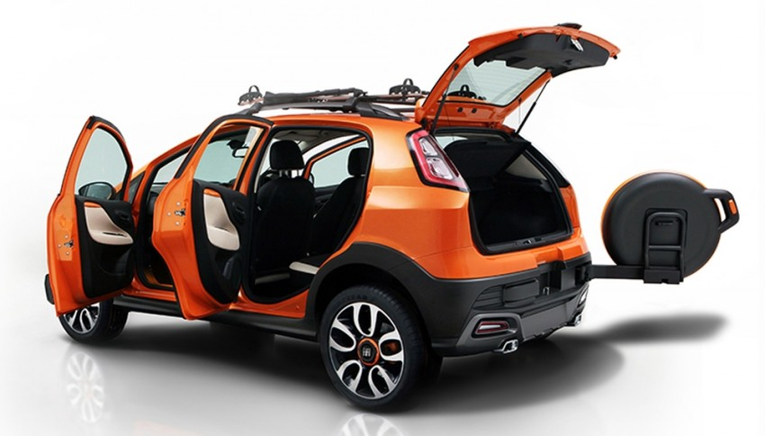 Fiat Punto Avventura – offering a new rugged point Image #226891