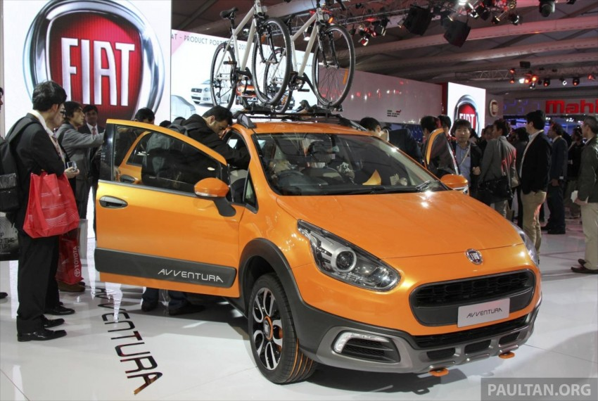 Fiat Punto Avventura – offering a new rugged point Image #226917