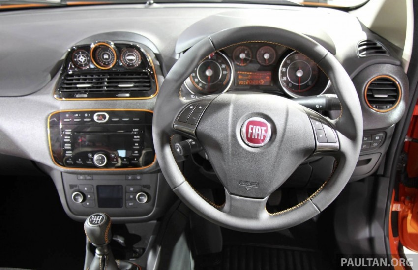Fiat Punto Avventura – offering a new rugged point Image #226920