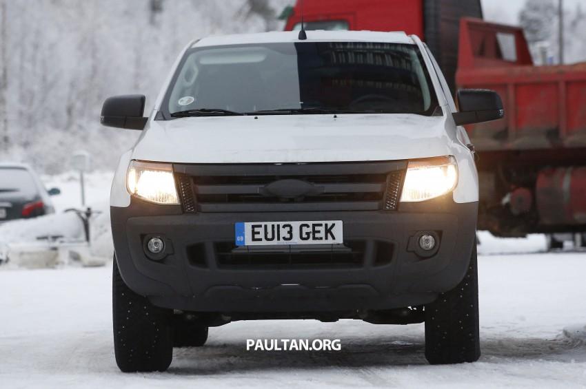 SPYSHOTS: Ford Everest – next-gen on winter trials Image #228683