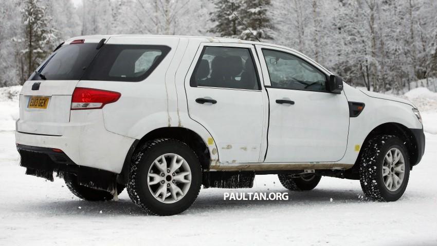 SPYSHOTS: Ford Everest – next-gen on winter trials Image #228680