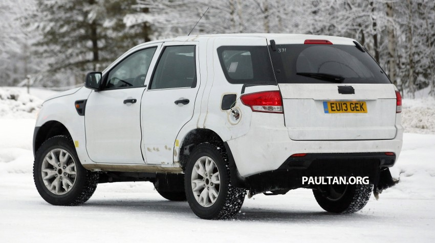 SPYSHOTS: Ford Everest – next-gen on winter trials Image #228681