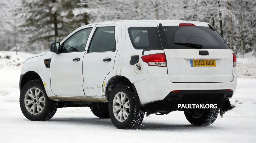 SPYSHOTS: Ford Everest – next-gen on winter trials Image #228681