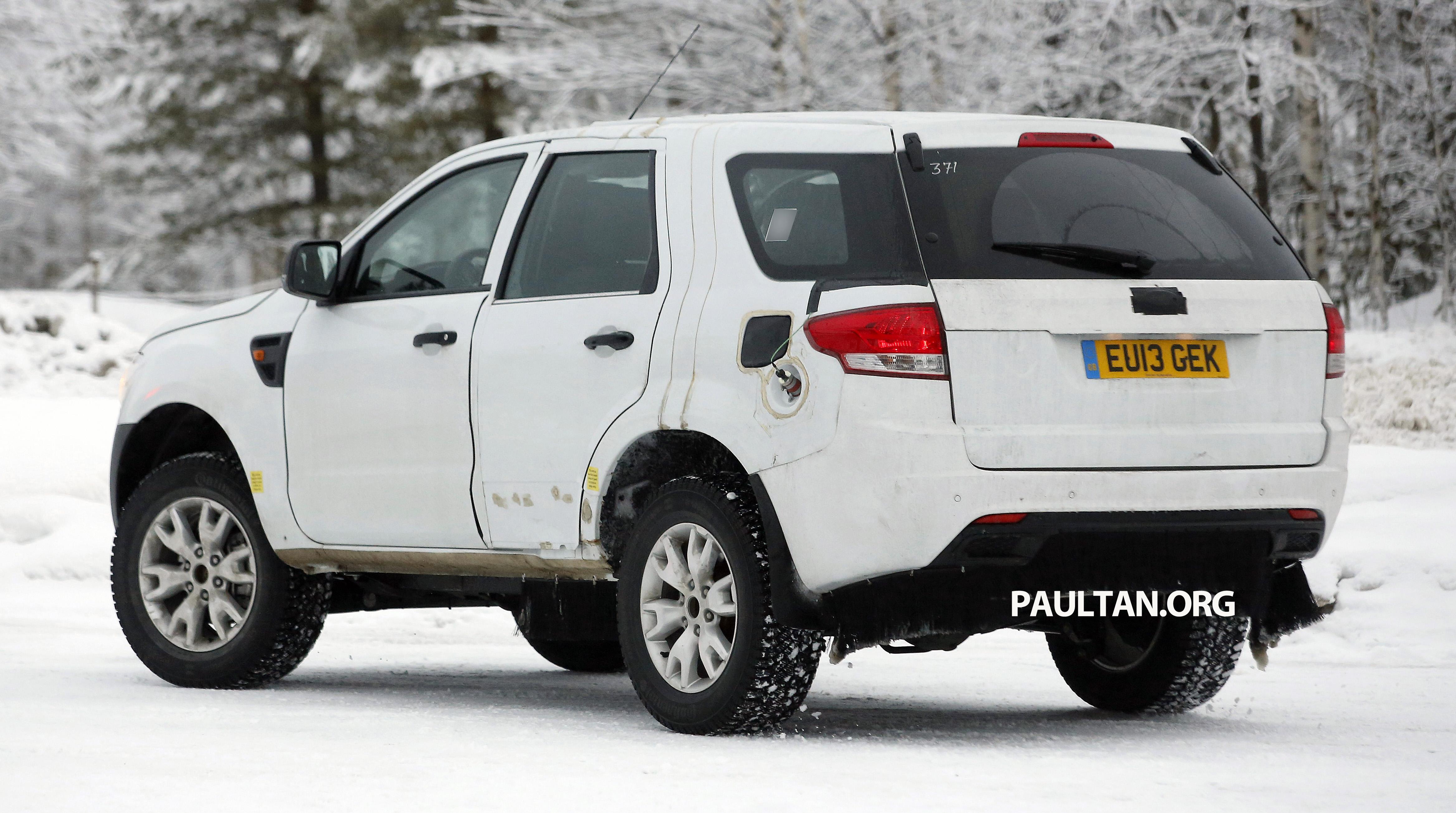 generation ford ranger phụ kiện ngoại thất ford everest