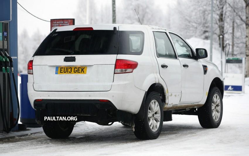 SPYSHOTS: Ford Everest – next-gen on winter trials Image #228678