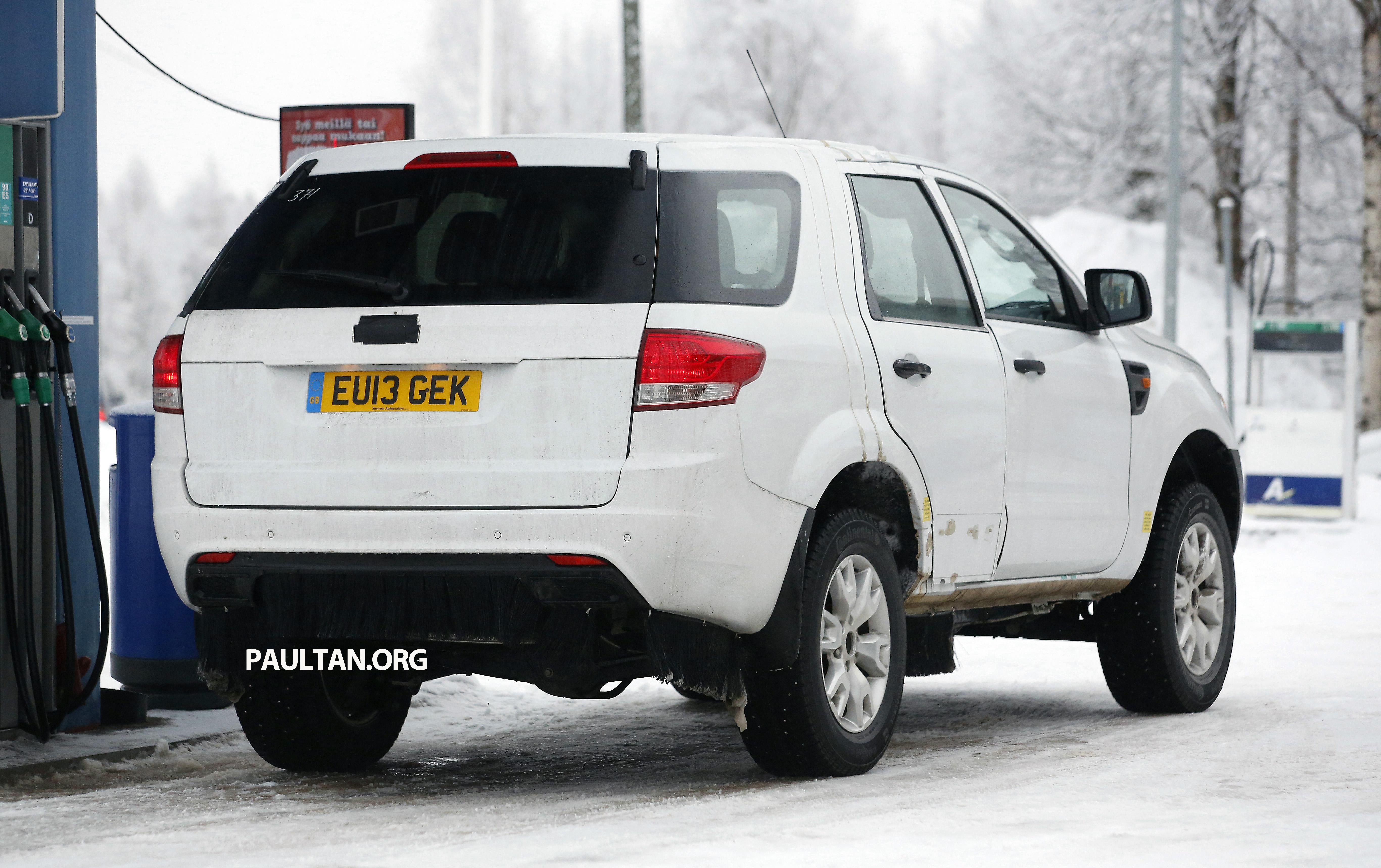 SPYSHOTS: Ford Everest - next-gen on winter trials