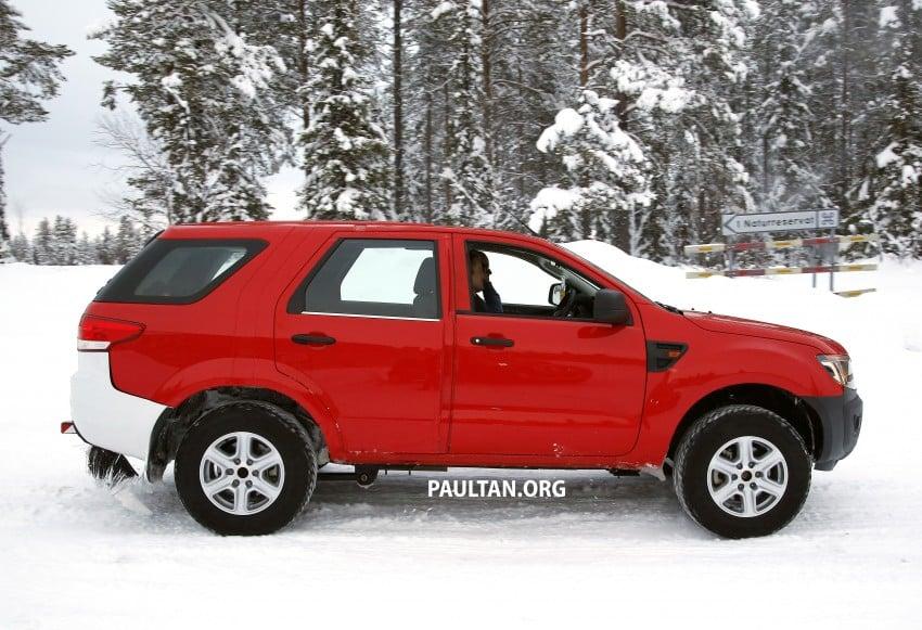 SPYSHOTS: Ford Everest – next-gen on winter trials Image #229729