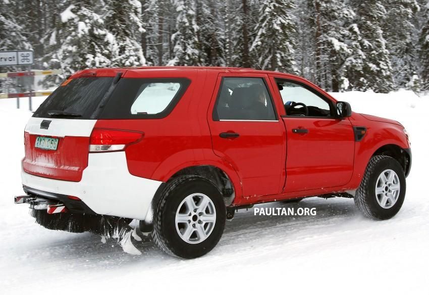 SPYSHOTS: Ford Everest – next-gen on winter trials Image #229728