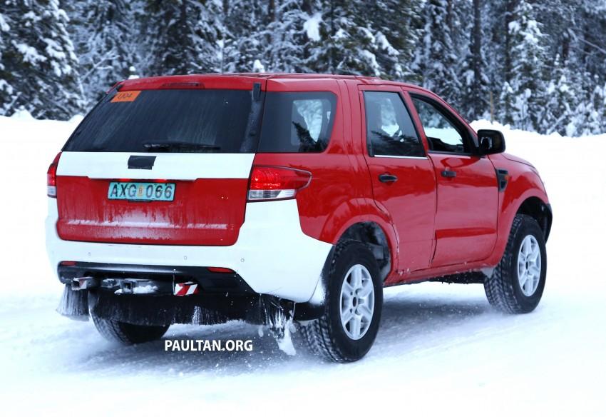 SPYSHOTS: Ford Everest – next-gen on winter trials Image #229727