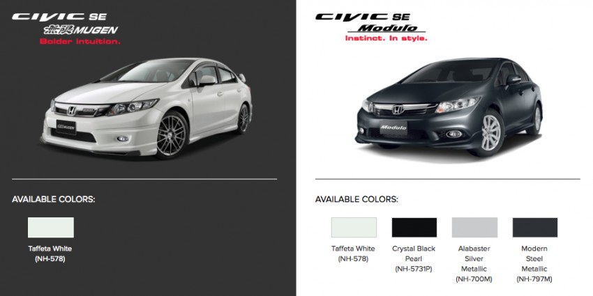 Honda Civic SE Modulo and Mugen – RM118k-139k Image #230585