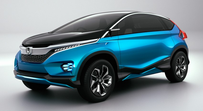 Honda Vision XS-1 concept study premieres in India Image #226508