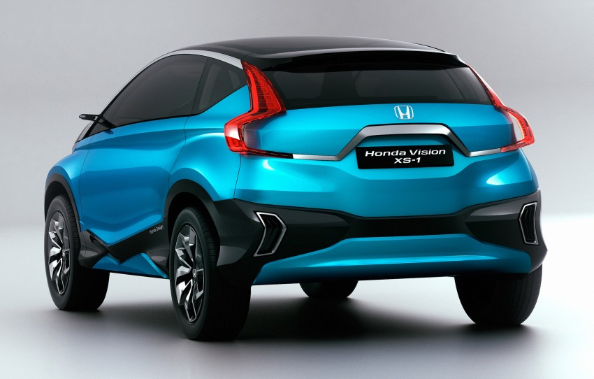 Honda Vision XS-1 concept study premieres in India Image #226510