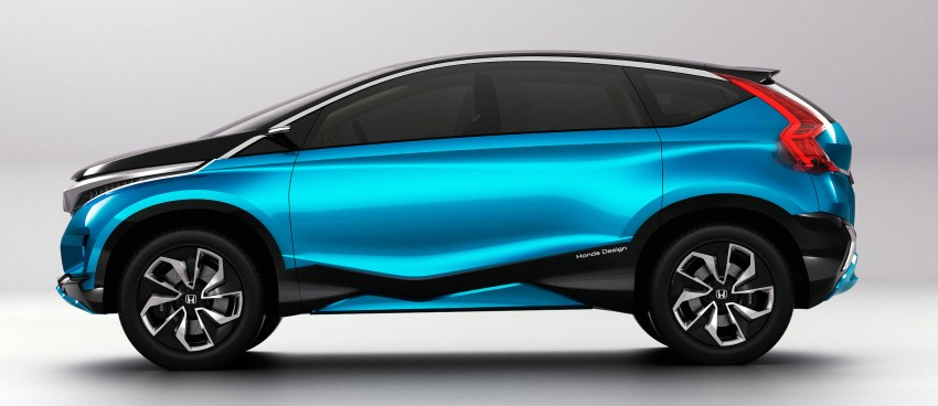 Honda Vision XS-1 concept study premieres in India Image #226512