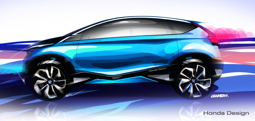 Honda Vision XS-1 concept study premieres in India Image #226518