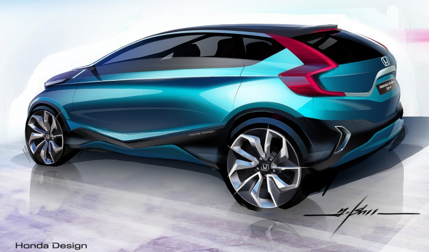 Honda Vision XS-1 concept study premieres in India Image #226520