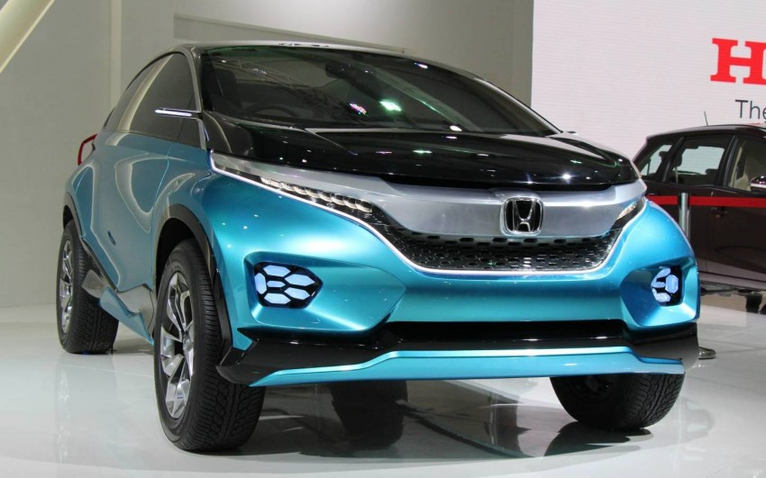 Honda Vision XS-1 concept study premieres in India Image #226828