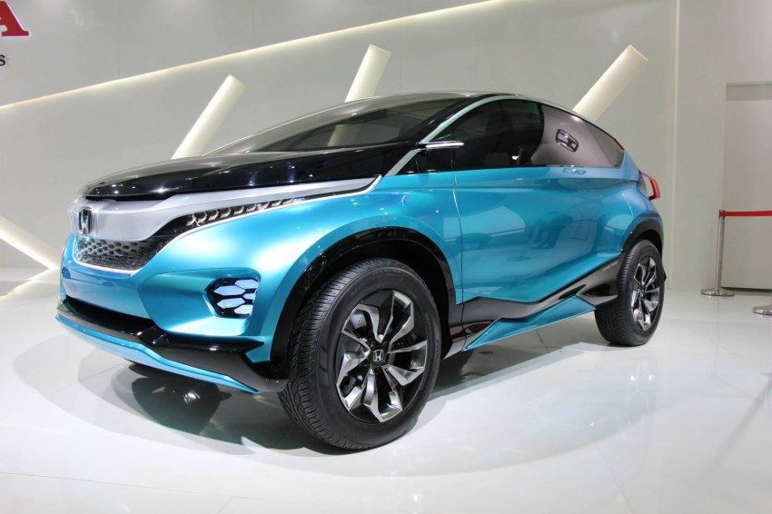 Honda Vision XS-1 concept study premieres in India Image #226830