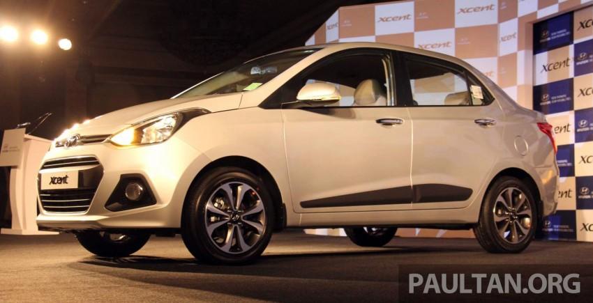 Hyundai Xcent – Grand i10 Sedan debuts in India Image #226227