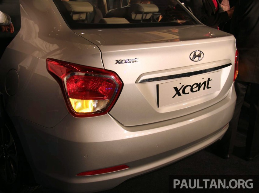 Hyundai Xcent – Grand i10 Sedan debuts in India Image #226362