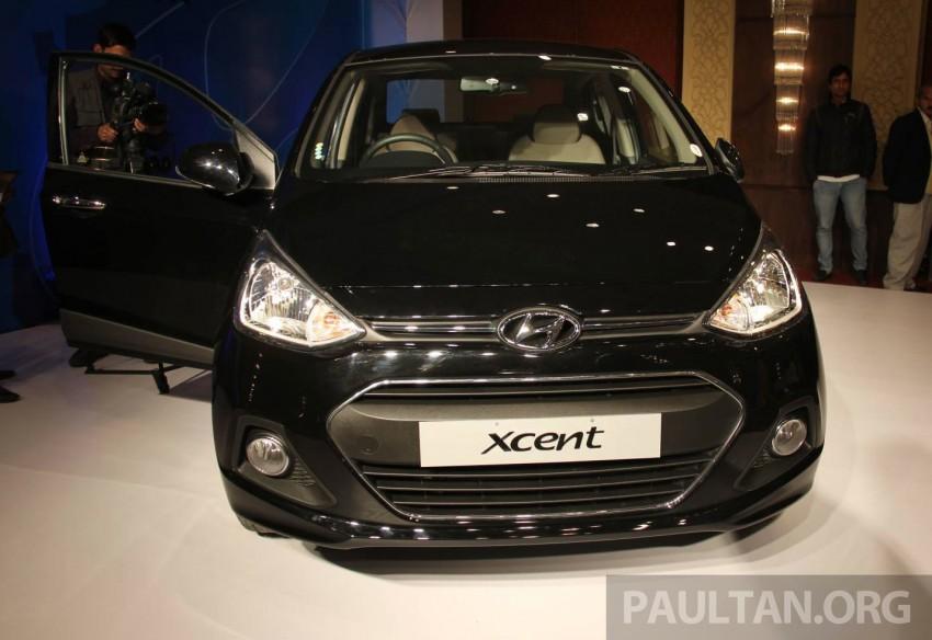 Hyundai Xcent – Grand i10 Sedan debuts in India Image #226363