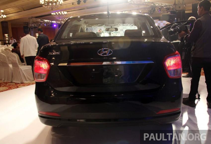 Hyundai Xcent – Grand i10 Sedan debuts in India Image #226365