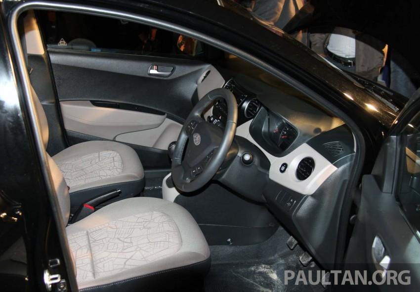 Hyundai Xcent – Grand i10 Sedan debuts in India Image #226232