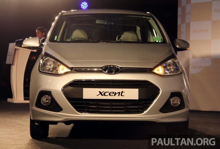 Hyundai Xcent – Grand i10 Sedan debuts in India Image #226239