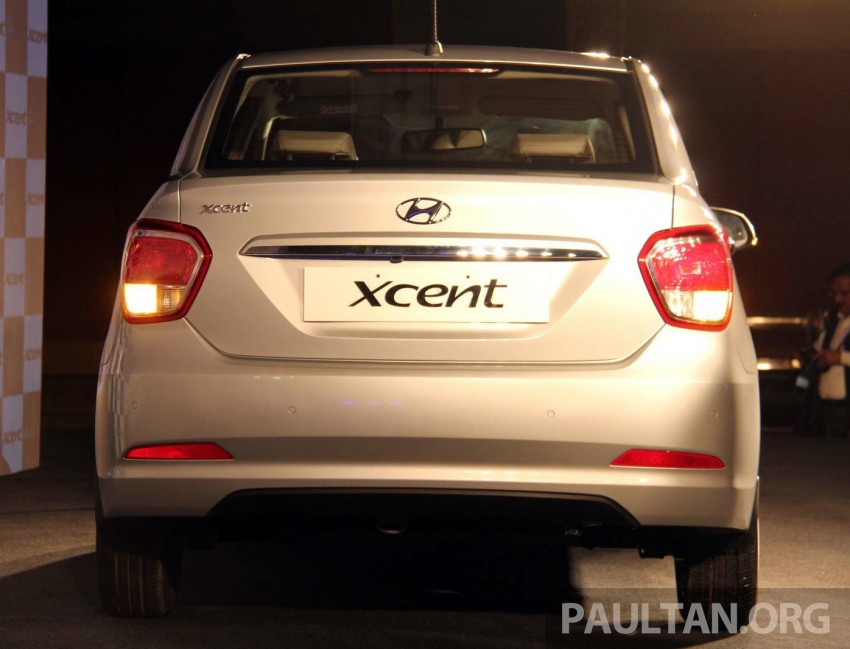 Hyundai Xcent – Grand i10 Sedan debuts in India Image #226242