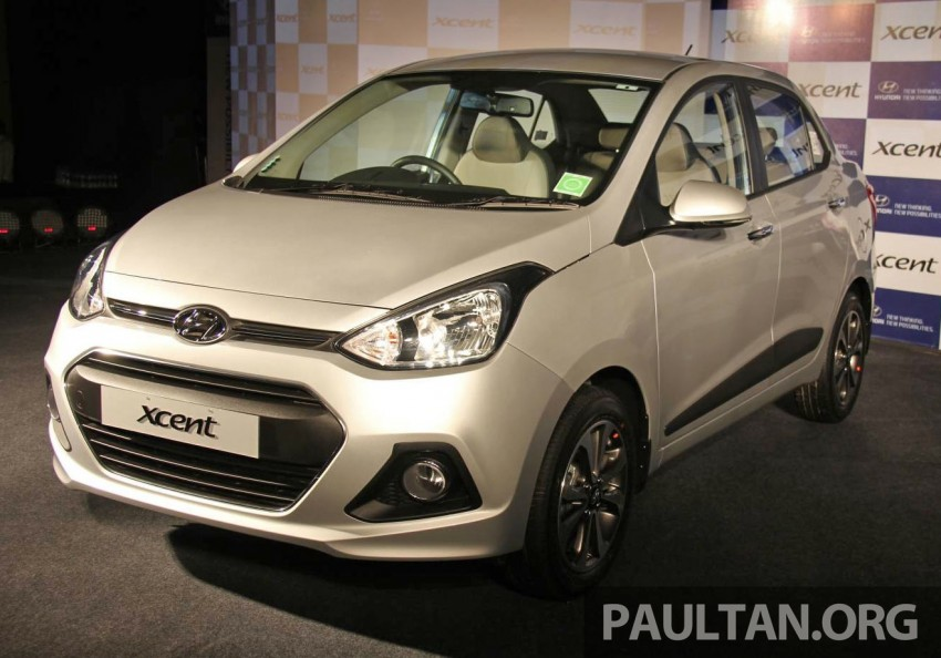 Hyundai Xcent – Grand i10 Sedan debuts in India Image #226248