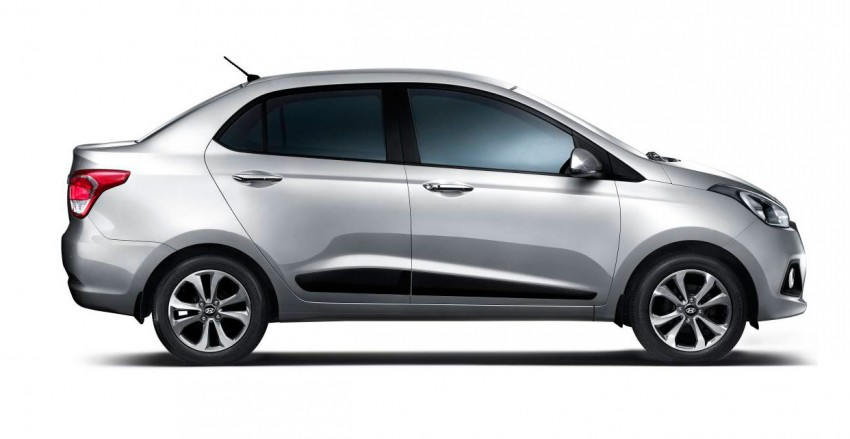 Hyundai Xcent – Grand i10 Sedan debuts in India Image #226287
