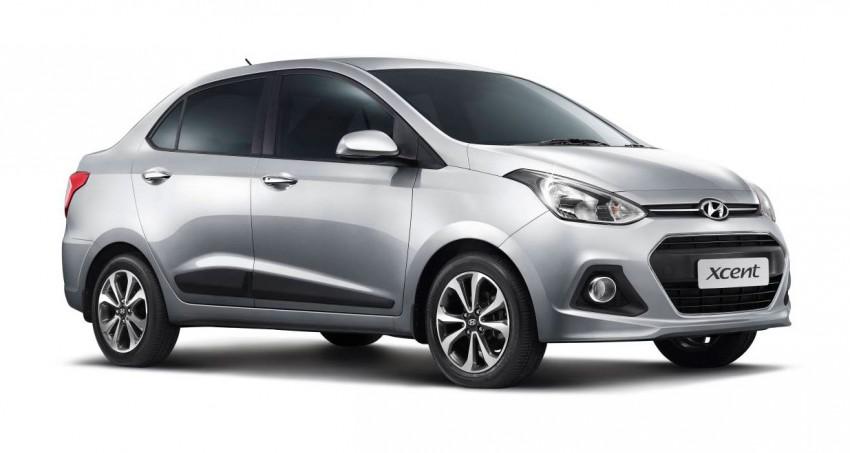 Hyundai Xcent – Grand i10 Sedan debuts in India Image #226288
