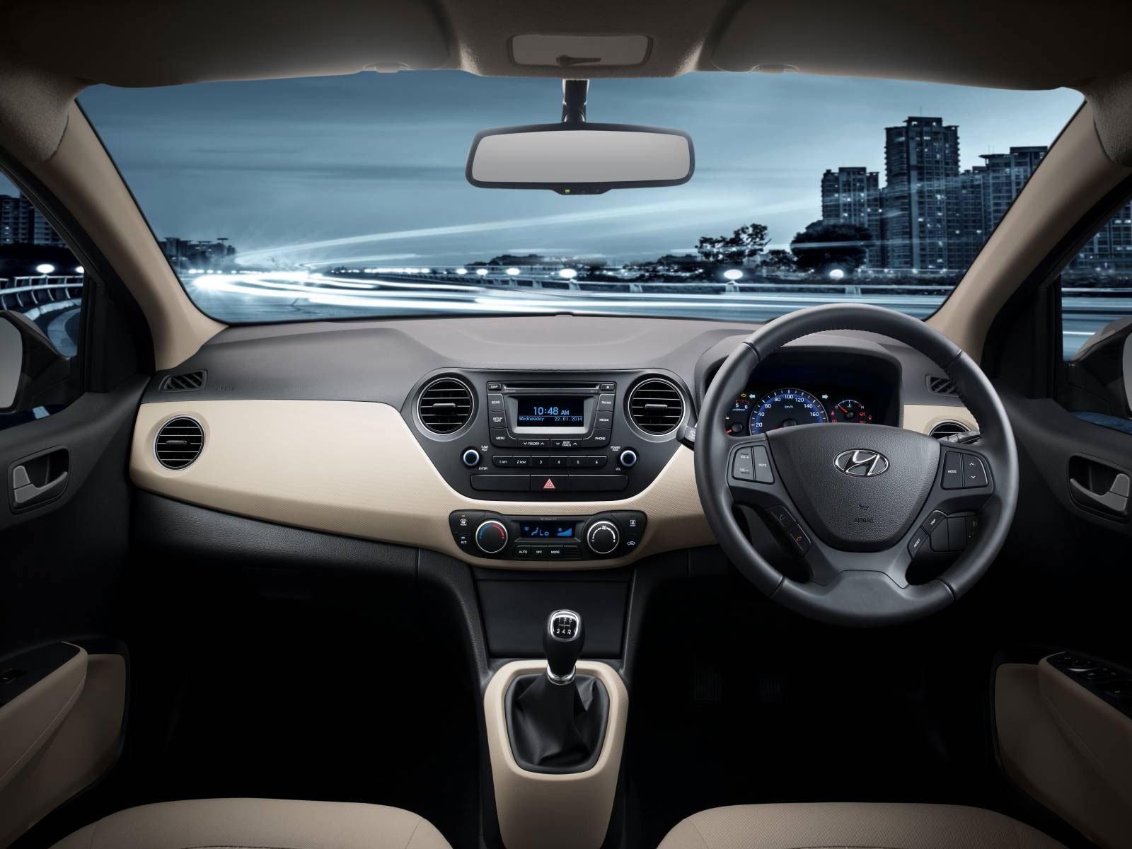 Hyundai Xcent Grand I10 Sedan Debuts In India Image 226292