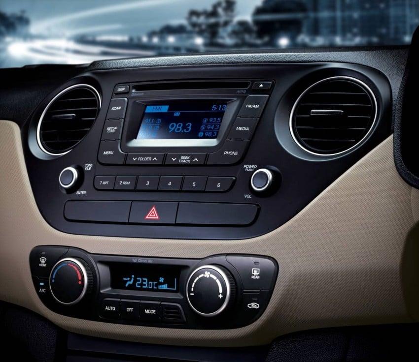 Hyundai Xcent – Grand i10 Sedan debuts in India Image #226294