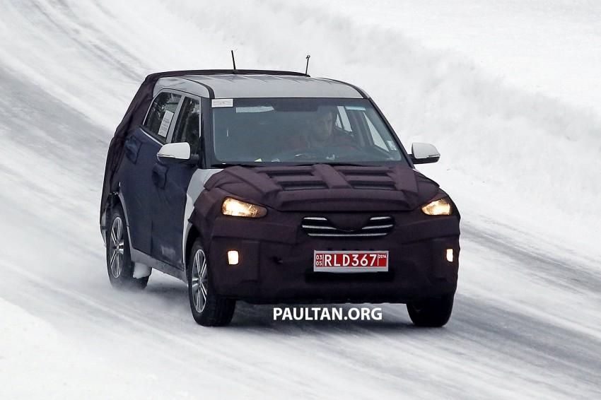 SPYSHOTS: Hyundai ix25 – Nissan Juke rival spotted Image #229196