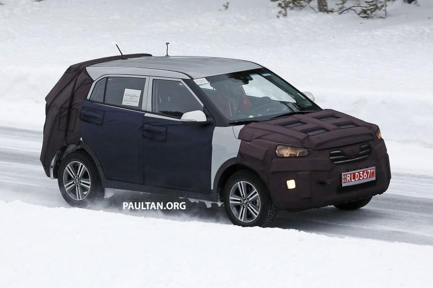 SPYSHOTS: Hyundai ix25 – Nissan Juke rival spotted Image #229198