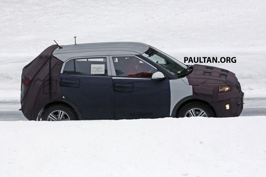 SPYSHOTS: Hyundai ix25 – Nissan Juke rival spotted Image #229199