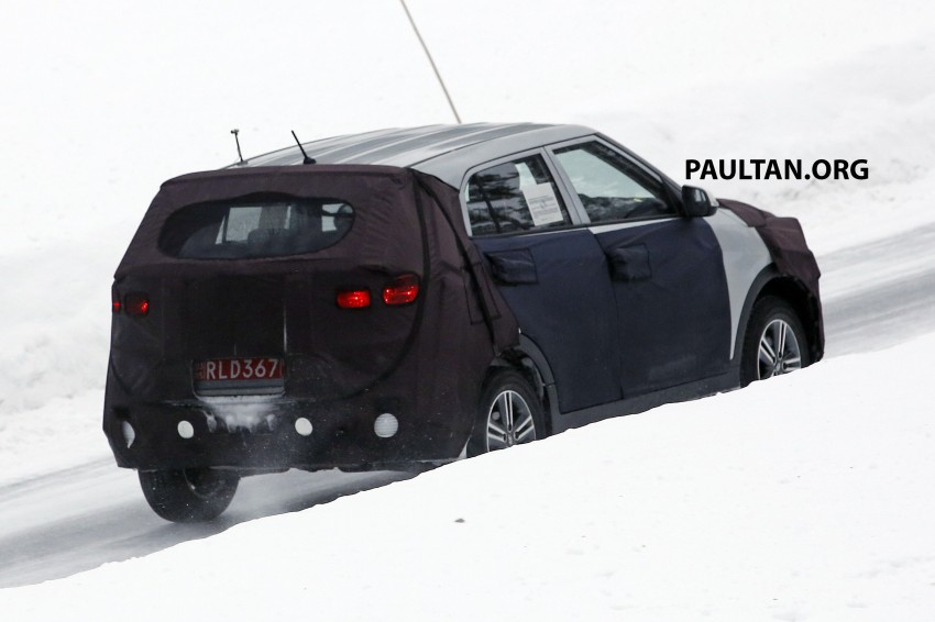 SPYSHOTS: Hyundai ix25 – Nissan Juke rival spotted Image #229201